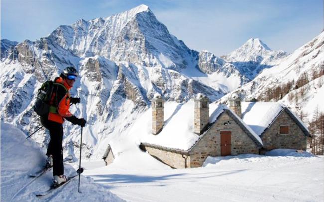 sci monte leone baita neve