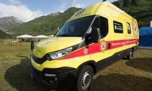 soccorso alpino base logistica mobile