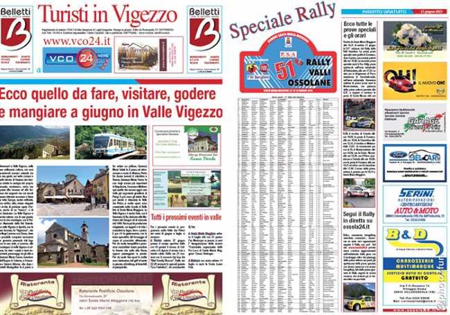 speciali ossola24 turismo rally