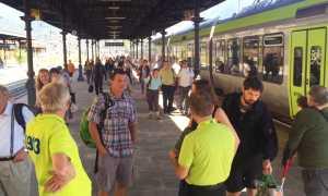 treno bls arrivo stazione