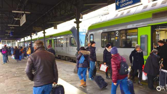treno bls discesa inverno