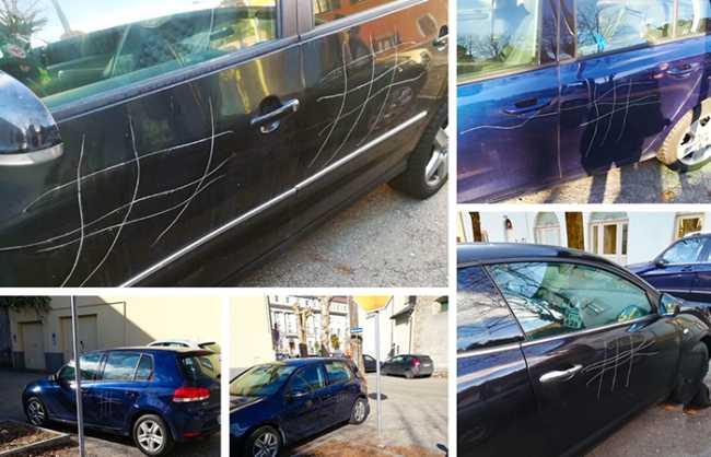vandali auto tris