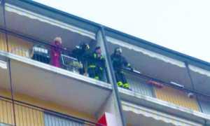vigili fuoco balcone