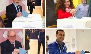 b candidati domo voto