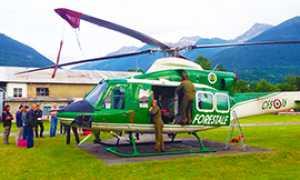 b esercitazione forestale elicottero