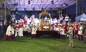 b patronale domo giugno santini palco