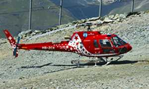 corta air zermatt elicottero