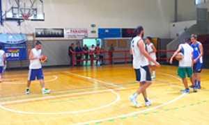 corta basket domo allenamento