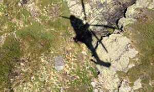 corta elicottero soccorso alto