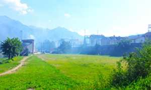 corta incendio ferrovia stadio