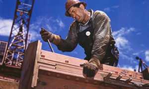 corta lavoratore edile