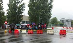 corta piedimulera pioggia rally