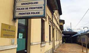 corta polizia frontiera uffici treno