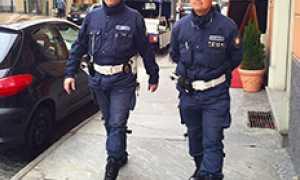 corta polizia locale via