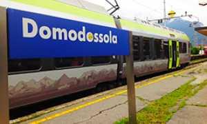 corta trenino verde bls stazione domodossola