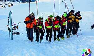 corto Socorso alpino gruppo ricerca dispersi valanghe