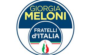 fratelli italia logo Meloni grande copia