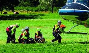 soccorso alpino squadra elicottero